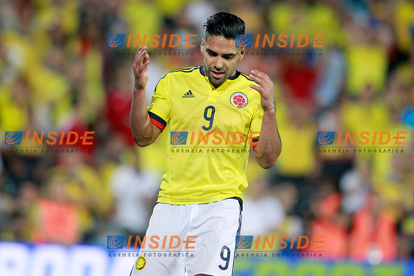 Colombia's Radamel Falcao dejected during international friendly match. June 13,2017.(ALTERPHOTOS/Acero/Insidefoto)<br /> Camerun - Colombia <br /> Foto Acero/Alterphotos/Insidefoto <br /> ITALY ONLY