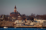 Abbot Hall over Marblehead Harbor, Marblehead, MA, USA