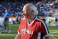 STANFORD, CA - JUNE 29: Krazy George during a Major League Soccer (MLS) match between the San Jose Earthquakes and the LA Galaxy on June 29, 2019 at Stanford Stadium in Stanford, California.