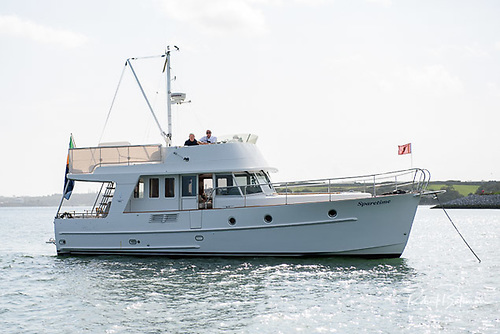 Sparetime, the Beneteau trawler yacht of former Royal Cork Admiral Peter Crowley
