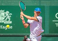 The Hague, Netherlands, 17 July, 2017, Tennis,  The Hague Open, Michiel de Krom (NED)<br /> Photo: Henk Koster/tennisimages.com