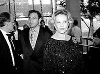 file Photo 1996 - Serge Losique ,Martin Cauchon<br /> , Jeanne Moreau,
