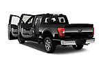Car images of 2021 Ford F-150 XLT 4 Door Pick-up Doors