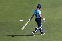 Ryan ten Doeschate of Essex leaves the field having been dismissed for 28 during Hampshire Hawks vs Essex Eagles, Royal London One-Day Cup Cricket at The Ageas Bowl on 22nd July 2021