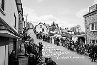 waiting for the riders up the Côte de Saint-Roch in Houffalize<br /> <br /> 103rd Liège-Bastogne-Liège 2017 (1.UWT)<br /> One Day Race: Liège › Ans (258km)