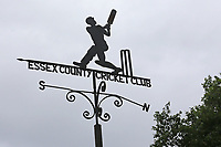 The weather vane ahead of Essex CCC vs Yorkshire CCC, Specsavers County Championship Division 1 Cricket at The Cloudfm County Ground on 9th July 2019