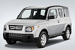 Front Three Quarter view of 2008 Honda Element EX SUV Stock Photo