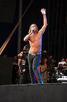 Iggy Pop sur la grande scËne de Rock en Seine ‡ Saint Cloud le dimanche 28 ao˚t 2016