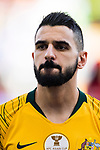 Aziz Behich of Australia is seen prior to the AFC Asian Cup UAE 2019 Group B match between Australia (AUS) and Jordan (JOR) at Hazza Bin Zayed Stadium on 06 January 2019 in Al Ain, United Arab Emirates. Photo by Marcio Rodrigo Machado / Power Sport Images