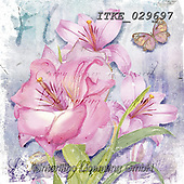 Isabella, FLOWERS, BLUMEN, FLORES, paintings+++++,ITKE029697,#f#, EVERYDAY ,napkin,napkins