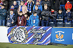 09.02.2019:Rangers fans at Rugby Park