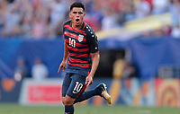 Cleveland, OH - Saturday July 15, 2017:  during a 2017 Gold Cup match between the men's national teams of the United States (USA) and Nicaragua (NCA) at FirstEnergy Stadium.
