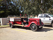 Fire Truck, Restored,Fire Truck,Fire Engine, 1936 Model, Ford, Seagrave, Stillwater, Firefighters, Union, Local 2095