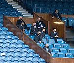 02.05.2121 Rangers v Celtic: Rangers directors