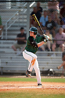 Dartmouth Big Green third baseman Steffen Torgersen (29) at bat during a game against the Southern Maine Huskies on March 23, 2017 at Lake Myrtle Park in Auburndale, Florida.  Dartmouth defeated Southern Maine 9-1.  (Mike Janes/Four Seam Images)