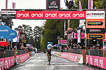 Filippo Ganna (ITA) Ineos Grenadiers wins solo Stage 5 of the 103rd edition of the Giro d'Italia 2020 running 225km from Mileto to Camigliatello Silano, Sicily, Italy. 7th October 2020.  <br /> Picture: LaPresse/Gian Mattia D'Alberto | Cyclefile<br /> <br /> All photos usage must carry mandatory copyright credit (© Cyclefile | LaPresse/Gian Mattia D'Alberto)