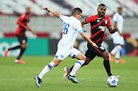 9th June 2021; Arena da Baixada, Curitiba, Brazil; Copa do Brazil, Athletico Paranaense versus Avai; Diego Renan of Avai attempts a long shot