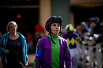 MAR 07: Kassie Guglielmino before the San Felipe Stakes at Santa Anita Park in Arcadia, California on March 7, 2020. Evers/Eclipse Sportswire/CSM
