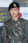 Jae-Joong (JYJ), Oct 29, 2015 : K-Pop boys group JYJ attend the 2015 Korean Popular Culture & Arts Awards held at National Theater in Seoul, South Korea on October 29, 2015. (Photo by Pasya/AFLO)