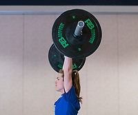 ORLANDO, FL - JANUARY 12: Kelley O'Hara #5 of the USWNT works out at the team hotel on January 12, 2021 in Orlando, Florida.