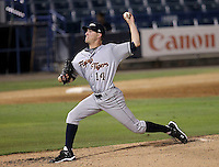 May 24, 2010 Starting Pitcher Adam Wilk of the Lakeland Flying Tigers, Florida State League Single-A affiliate of the Detroit Tigers, delivers a pitch during a game at George M. Steinbrenner Field in Tampa, FL. Photo by: Mark LoMoglio/Four Seam Images