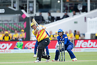 Rachel Priest, Trent Rockets goes big over mid wicket during London Spirit Women vs Trent Rockets Women, The Hundred Cricket at Lord's Cricket Ground on 29th July 2021