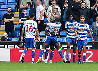 Reading's Yakou Meite (no. 21) celebrates scoring his side's first goal <br /> <br /> Photographer Andrew Kearns/CameraSport<br /> <br /> The EFL Sky Bet Championship - Reading v Preston North End - Saturday 30th March 2019 - Madejski Stadium - Reading<br /> <br /> World Copyright © 2019 CameraSport. All rights reserved. 43 Linden Ave. Countesthorpe. Leicester. England. LE8 5PG - Tel: +44 (0) 116 277 4147 - admin@camerasport.com - www.camerasport.com