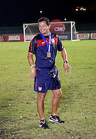 Wilmer Cabrera. The United States defeated Canada, 3-0, during the final game of the CONCACAF Men's Under 17 Championship at Catherine Hall Stadium in Montego Bay, Jamaica.