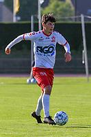 Tsotne Bendianishvili (22) of KV Kortrijk pictured during a friendly soccer game between KSV Oudenaarde and KV Kortrijk during the preparations for the 2021-2022 season , on Friday 16th of June 2021 in Oudenaarde , Belgium . PHOTO STIJN AUDOOREN | SPORTPIX