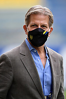 Parma calcio 1913 president Kyle Krause looks on wearing a a mask prior to the Serie A football match between Parma Calcio 1913 and SSC Napoli at Ennio Tardini stadium in Parma (Italy), September 20th, 2020. Photo Andrea Staccioli / Insidefoto