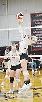 Senior Olivia McCracken, No. 11