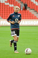 20151007 - LIEGE , BELGIUM : Frankfurt's Jackie Groenen pictured during the female soccer match between STANDARD Femina de Liege and 1. FFC Frankfurt , in the 1/16 final ( round of 32 ) first leg in the UEFA Women's Champions League 2015 in stade Maurice Dufrasne - Sclessin in Liege. Wednesday 7 October 2015 . PHOTO DAVID CATRY