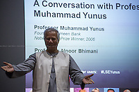 21.11.2014 - LSE Presents: A Conversation with Professor Muhammad Yunus