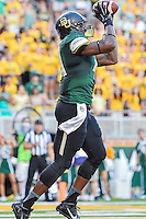 Tre'Von Armstead during NCAA inaugural Football game at newly constructed McLean Stadium, Sunday, August 31, 2014 in Waco, Tex. Baylor leads SMU 31-0 in the first half. (Mo Khursheed/TFV Media via AP Images)