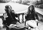 Deep Purple 1973 David Coverdale & Glenn Hughes.© Chris Walter.