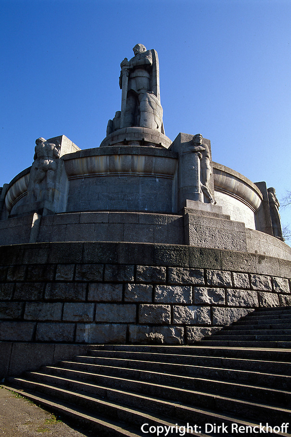 Deutschland, Hamburg, Bismarck-Denkmal in St. Pauli