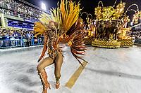 Rio de Janeiro (RJ), 22/02/2020 CARNAVAL - RJ - DESFILE - Desfile das escolas de samba Incentes de Belfort Roxo, da Serie A, neste sabado (22), no sambodromo, no centro do Rio de Janeiro (RJ) (Foto: Ellan Lustosa/Codigo 19/Codigo 19)