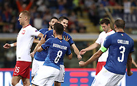 Football: Uefa Nations League match Italy vs Poland, Renato Dall'Ara stadium, Bologna, Italy, September 7, 2018. <br /> Italy's Jorginho celebrates after scoring with his teammates during the Uefa Nations League match between Italy and Poland at the Renato Dall'Ara stadium, Bologna, Italy, September 7, 2018. <br /> UPDATE IMAGES PRESS/Isabella Bonotto