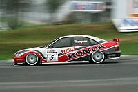 1998 British Touring Car Championship pre season test day. #5 James Thompson (GBR). Team Honda Sport. Honda Accord.