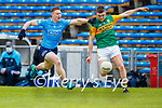 Sean O'Shea, Kerry in action against John Small, Dublin during the Allianz Football League Division 1 South between Kerry and Dublin at Semple Stadium, Thurles on Sunday.
