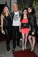 STUDIO CITY, CA - JUNE 23: KUBA Ka, Christina Fulton and Vikki Lizzi attend Polish Popstar KUBA Ka's concert at La Maison in Studio City on June 23, 2013 in Studio City, California. (Photo by Celebrity Monitor)