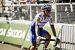 """Julian Alaphilippe (Fra) Deceuninck-Quick Step takes 1"""" back finishes in 5th place on Mont Aigoual at the end of Stage 6 of Tour de France 2020, running 191km from Le Teil to Mont Aigoual, France. 3rd September 2020.<br /> Picture: ASO/Pauline Ballet 
