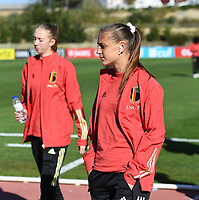 20200307  Parchal , Portugal : Belgian Alexandra 'Zandy' Soree (7) pictured during the female football game between the national teams of Belgium called the Red Flames and Portugal on the second matchday of the Algarve Cup 2020 , a prestigious friendly womensoccer tournament in Portugal , on saturday 7 th March 2020 in Parchal , Portugal . PHOTO SPORTPIX.BE | DAVID CATRY
