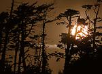 Sunset, Oliver Cove Provincial Marine Park, British Columbia, Canada