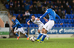 St Johnstone v Inverness Caledonian Thistle...20.12.14   SPFL<br /> Brian Graham scores the penalty<br /> Picture by Graeme Hart.<br /> Copyright Perthshire Picture Agency<br /> Tel: 01738 623350  Mobile: 07990 594431