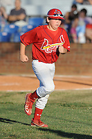 Chase Galloway Bat Boy for the Johnson City Cardinalsl against the Elizabethton Twins  during the Appalachian League Championship. Johnson City  won 6-2 at Howard Johnson Field, Johnson City Tennessee. Photo By Tony Farlow/Four Seam Images.