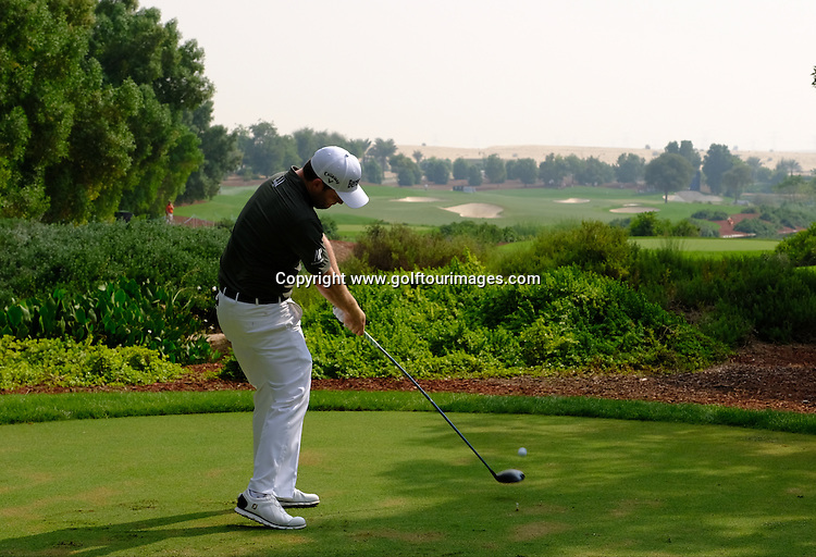 Branden GRACE (RSA) during round three of the 2016 DP World Tour Championships played over the Earth Course at Jumeirah Golf Estates, Dubai, UAE: Picture Stuart Adams, www.golftourimages.com: 11/19/16