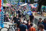 People explore vendors and the race course during the Epic Rides' Inaugural Carson City Off-Road event on Saturday, June 18, 2016 in Carson City, Nev.<br /> Photo by Kevin Clifford/Nevada Photo Source