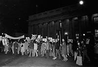 Marche CSN - solidarite, 1973, possiblement le 1er Mai<br /> <br /> PHOTO  : Agence Quebec Presse - Alain Renaud