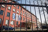 """Zentrale des Immobilienkonzern """"Deutsche Wohnen"""" in Berlin.<br /> 25.2.2021, Berlin<br /> Copyright: Christian-Ditsch.de"""